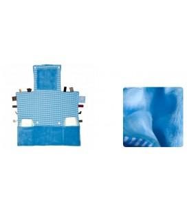 Snoozebaby - Luier verwisselkleedje - Licht blauw