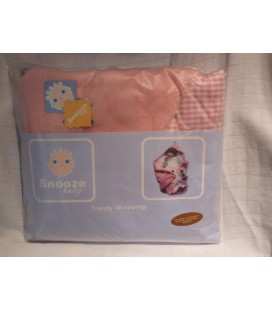Snoozebaby - Wrapping roze