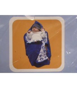 Snoozebaby - Wrapping delftsblauw