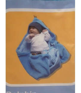 Snoozebaby - Wrapping licht blauw