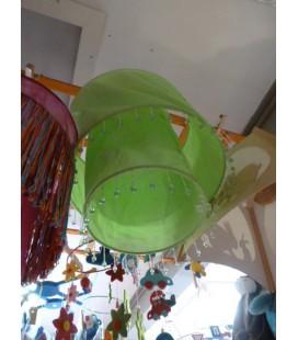 Groene dubbele kraaltjes hanglamp