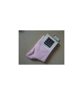 Melton -licht roze baby sokje 2 maten