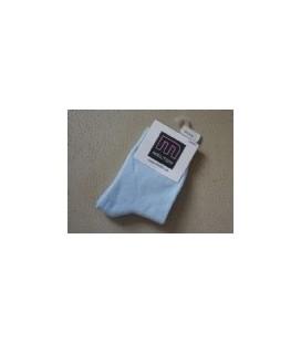 Melton - licht blauw baby sokje 2 maten