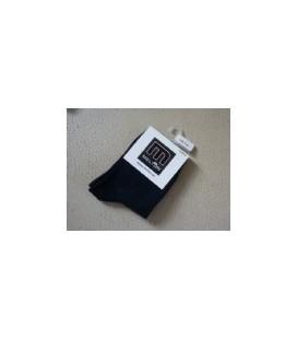 Melton - donker blauwe baby sokjes 2 maten