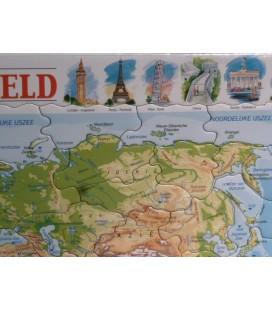 Larsen puzzel - de Wereld