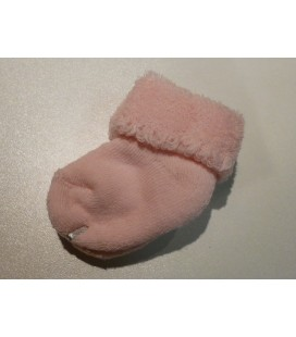 Melton - de eerste baby sokjes wit, roze en blauw