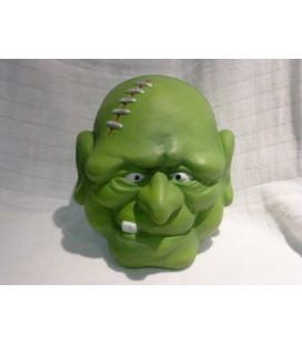 deco - halloween hoofd groen