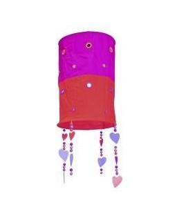 Hanglamp Hartjes - Roze/Oranje