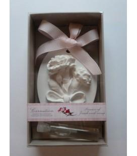 Ornament cadeau & parfum carnation