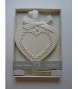 Ornament cadeau & parfum fris katoen