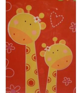 Houten kaart - Giraf