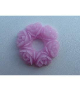 Roze Rozenkrans - klein