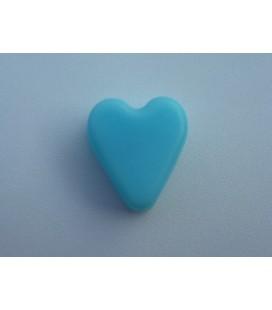 Blauw Hartje plat