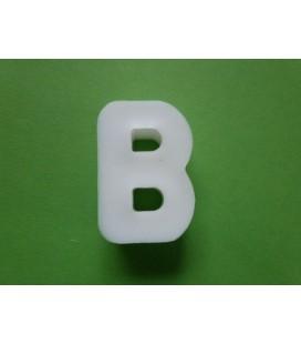 Zeepletter alfabet B