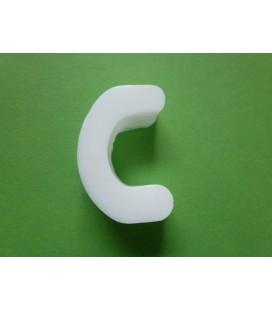Zeepletter alfabet C