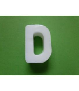 Zeepletter alfabet D