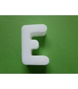 Zeepletter alfabet E