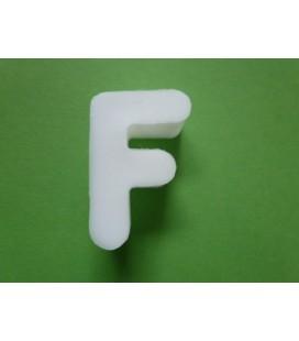 Zeepletter alfabet F