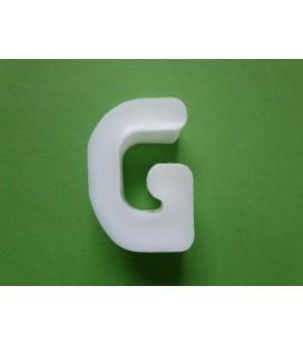 Zeepletter alfabet G