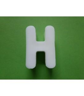 Zeepletter alfabet H