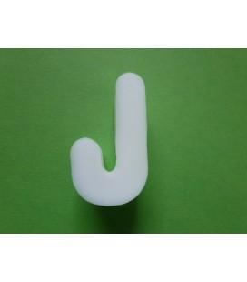 Zeepletter alfabet J