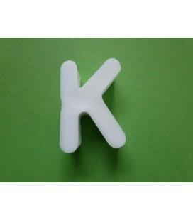 Zeepletter alfabet K