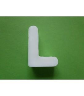Zeepletter alfabet L