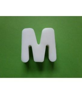 Zeepletter alfabet M