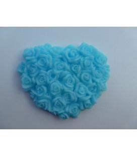 Blauw Luxe Rozenhart groot