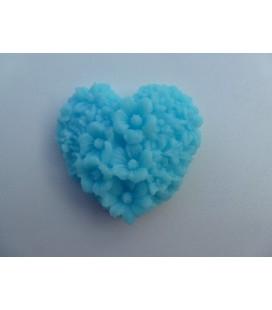 Blauw Hart Zonnebloem/Madeliefje