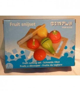 fruit snijset - hout - simply