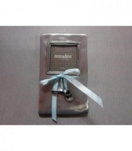 fotolijst met schoentjes - blauwe strik - amadeo