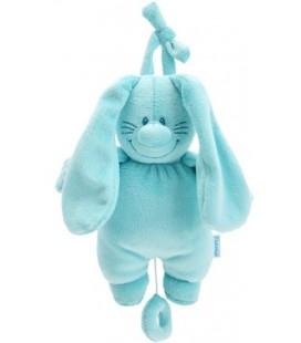 Bunny Basic muziekdoos aqua - Tiamo