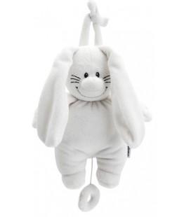 Bunny Basic muziekdoos wit - Tiamo