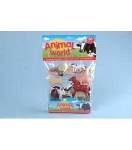 Boerderij dieren 20 in zak