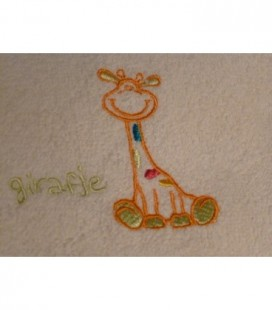 Zwanger cadeau | oranje giraf 1