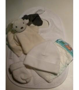 Zwanger cadeau | basis pakket 16 wit