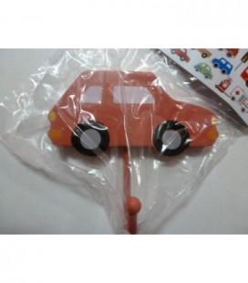 Kapstok haak auto rood