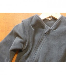 Isi mini- slaapzak fleece antraciet