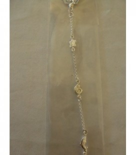 Zilveren armband 3 dieren (schildpad..)