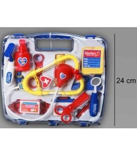Dokters koffertje blauw