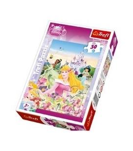 Puzzel prinses 3X 30 stukjes