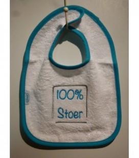 Slab| 100% stoer / blauwe rand