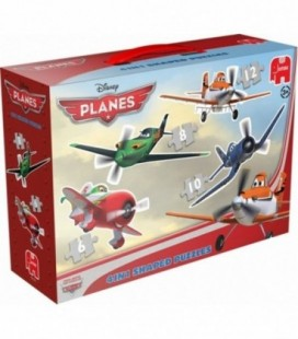 Puzzel 4 in 1  planes