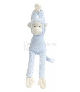 Blue Monkey  Mickey musical - muziekknuffel aap blauw