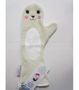 Baby shower glove - creme