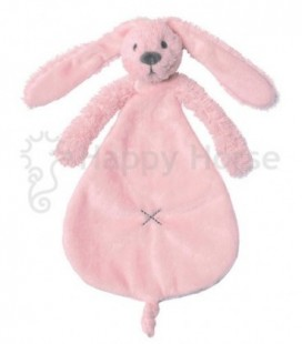Konijn roze tutdoek rabbit  richie