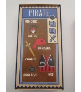 Piraten outfit in retro doos