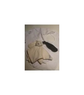 Kraamcadeau / zwangerschaps cadeau grijs wit 01