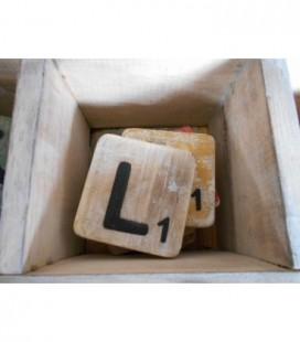 Scrabble letter L